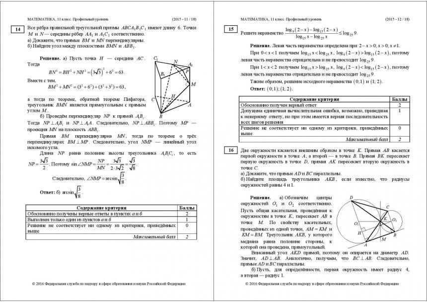 О профильном ЕГЭ по математике, «равных возможностях» и единстве страны